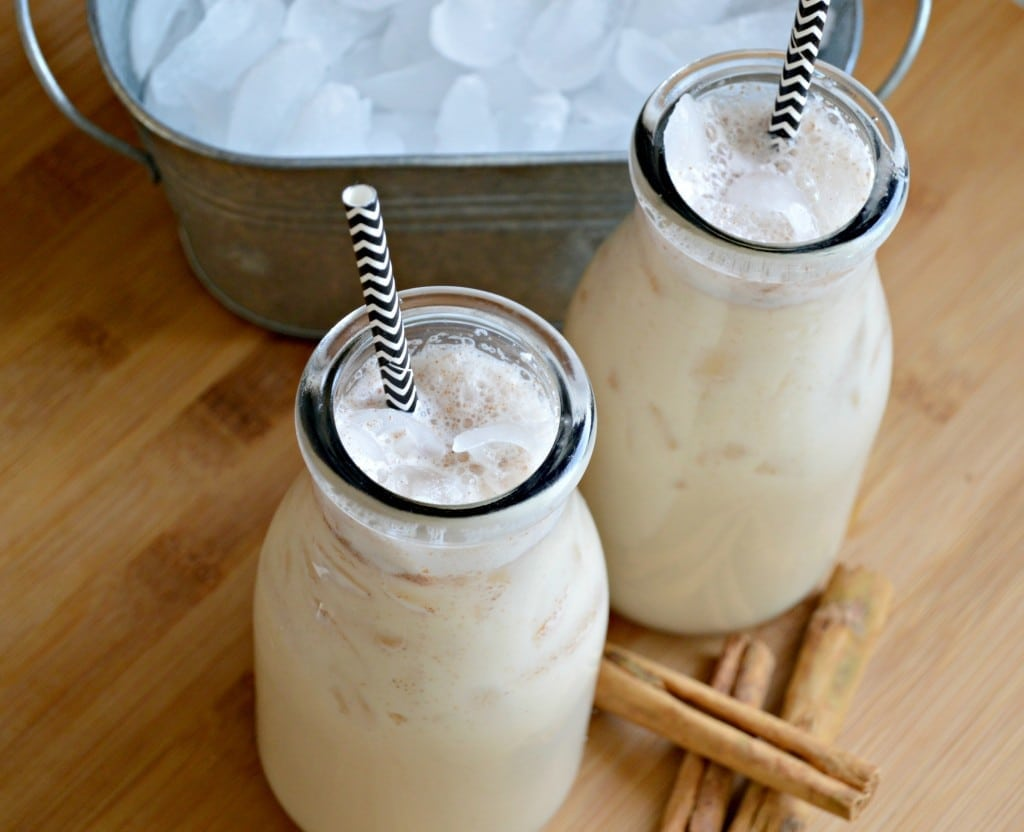 Horchata is a delicious rice (or coconut) based drink that you can find at most Mexican restaurants in the United States and abroad.