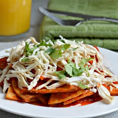 Chilaquiles Recipe with Homemade Salsa and Chicken