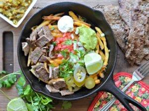 carne asada fries delicious
