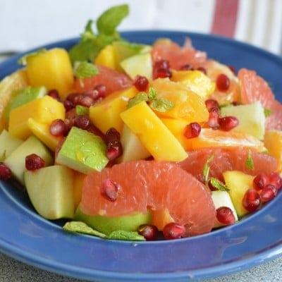 Citrus and Honey Fruit Salad