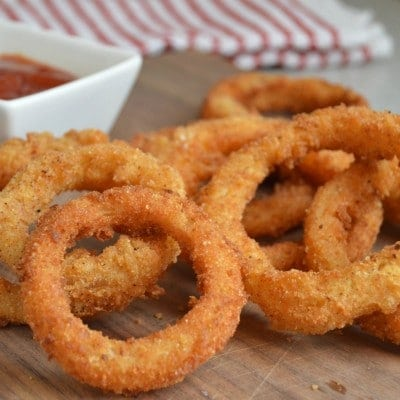 Homemade Extra Crispy Onion Rings