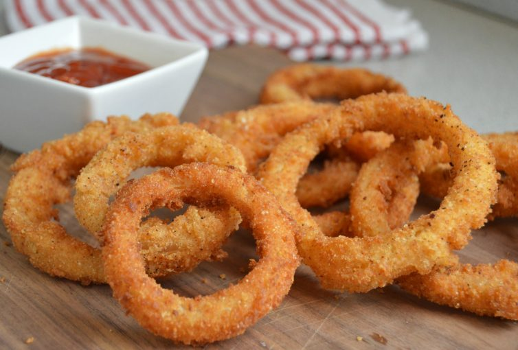 onion rings   homemade extra crispy and delicious