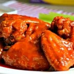 These Buffalo Wings only require a few ingredients and are a perfect option for game time parties or any other gathering.