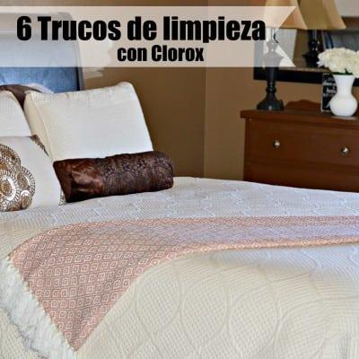 6 Trucos de Limpieza con Clorox