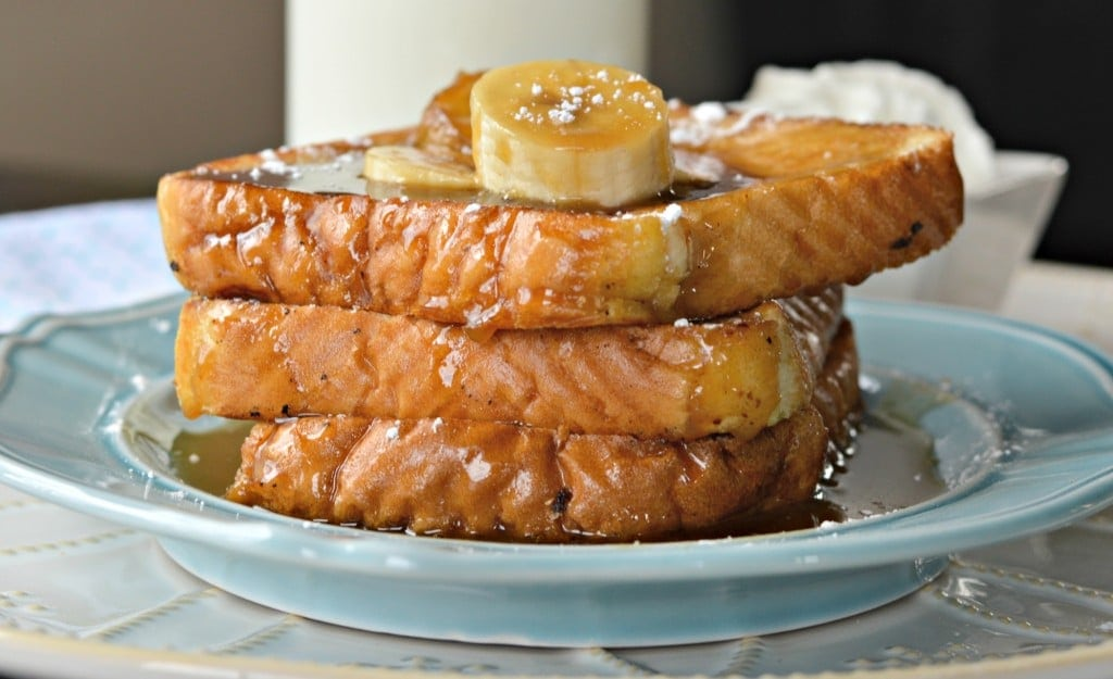 Bananas Foster French Toast - This delicious recipe is easy to make and is a perfect choice for breakfast.