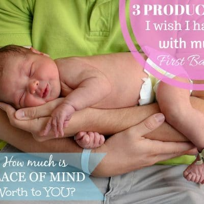 3 Products I Wish I Had With My First Baby