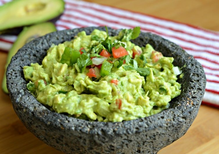 Guacamole recipe - homemade, authentic Mexican version with simple ingredients that my abuela taught me how to make.