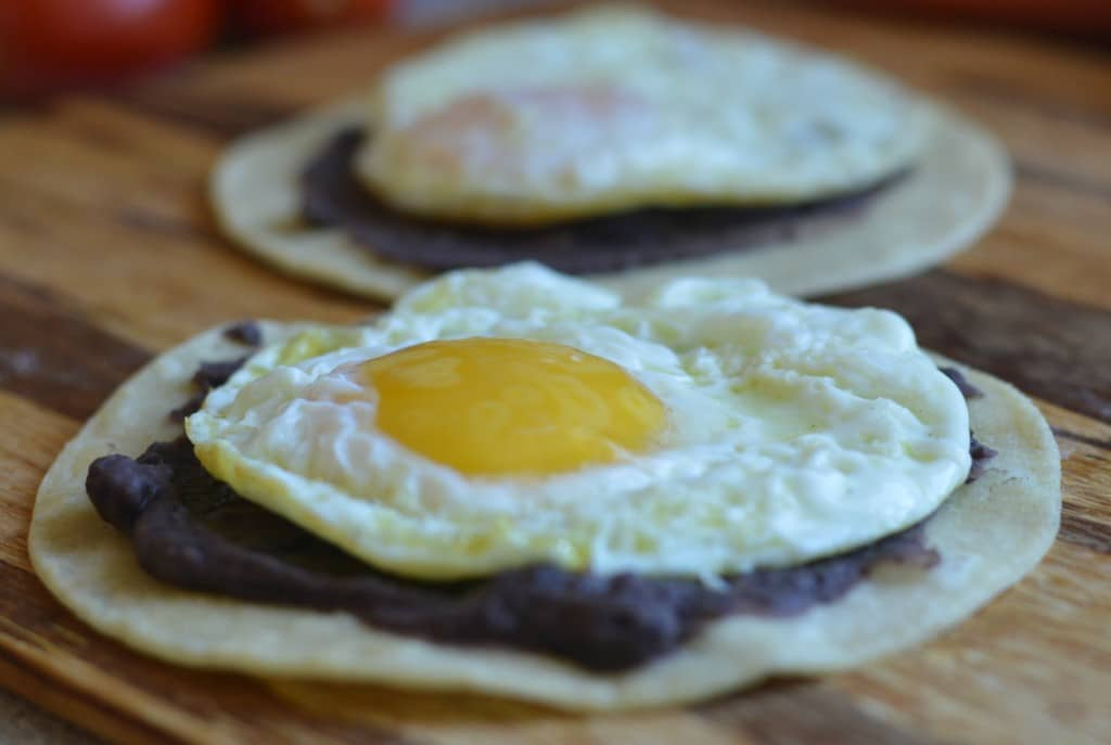 This Huevos Rancheros recipe is as authentic as it gets, and is the recipe I learned growing up in Mexico. Keep reading to find out how to make it.
