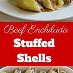 These Beef Enchilada Stuffed Shells are perfect for any night of the week. They are easy to make and the flavor combination is amazing!