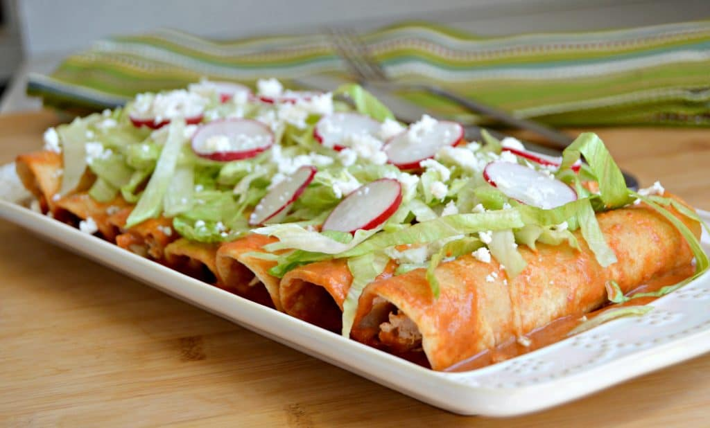 These Enchiladas with homemade red enchilada sauce is the last recipe of its kind that you will need to look for.