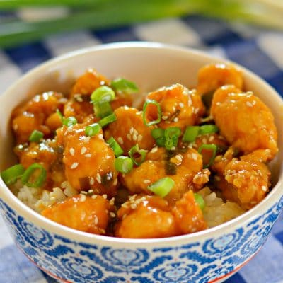 Pollo a la Naranja Mejor sabor que el de Panda Express!