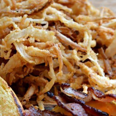 Crispy Onion Straws Recipe