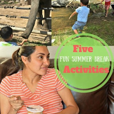 5 Fun Summer Break Activities