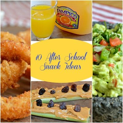 10 After School Snack Ideas