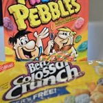 Fruity Pebbles and Berry Colossal Crunch
