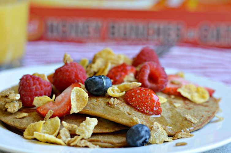 Honey Bunches of Oats Pancakes 1