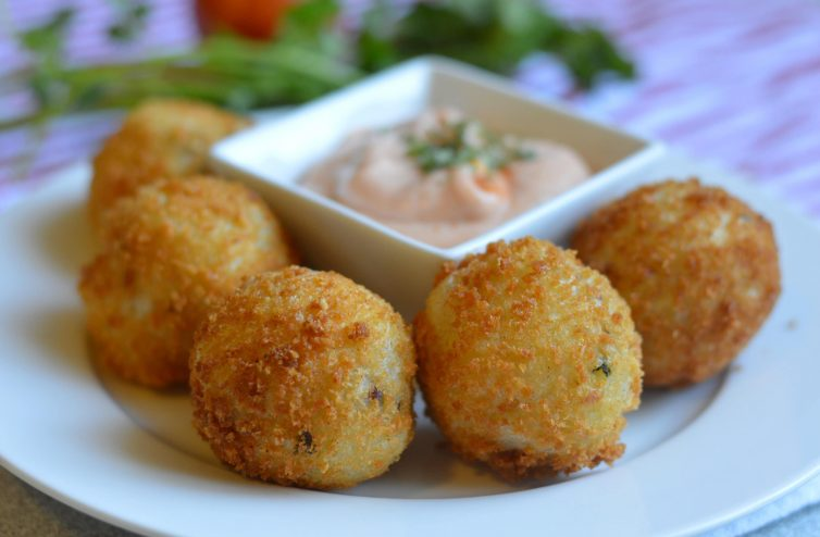 Chorizo Potato Balls