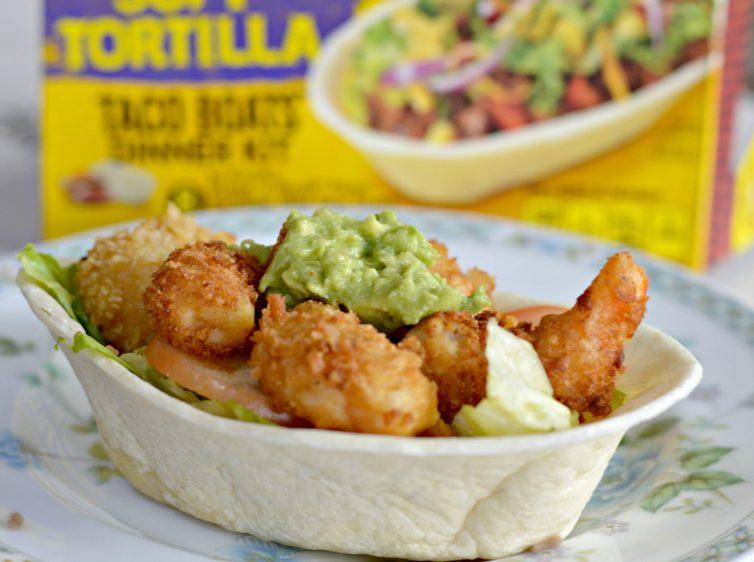 Extra Crispy Shrimp Taco Bowls