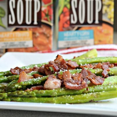 Bacon and Garlic Asparagus – A Perfect Side Dish