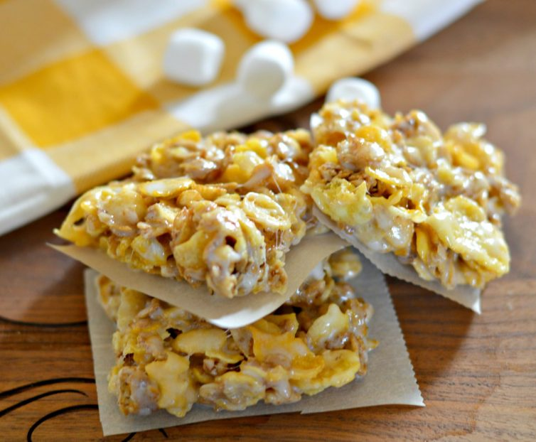 Honey Bunches of Oats Marshmallow Bars