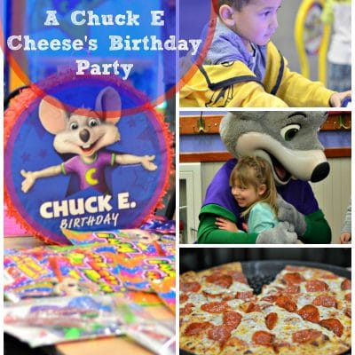 How To Throw an Amazing Birthday Party at Chuck E Cheese's