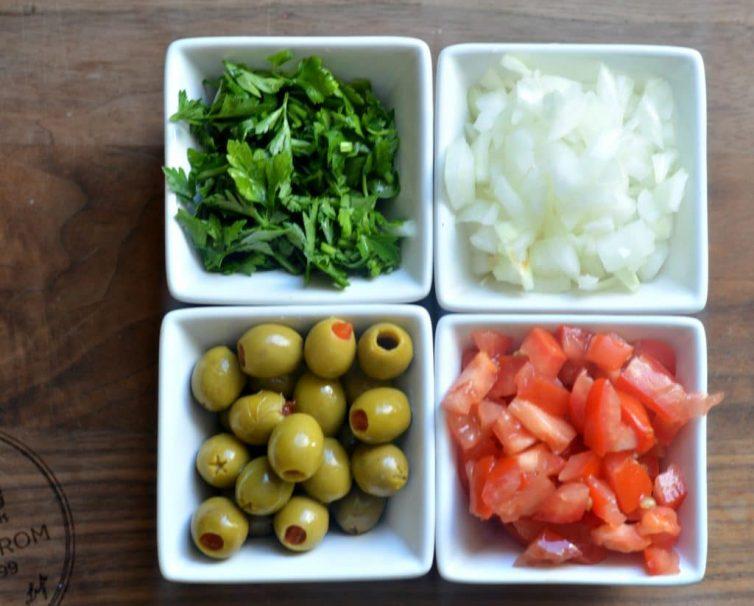 Vizcaina Style Tuna Stuffed Avocados 3