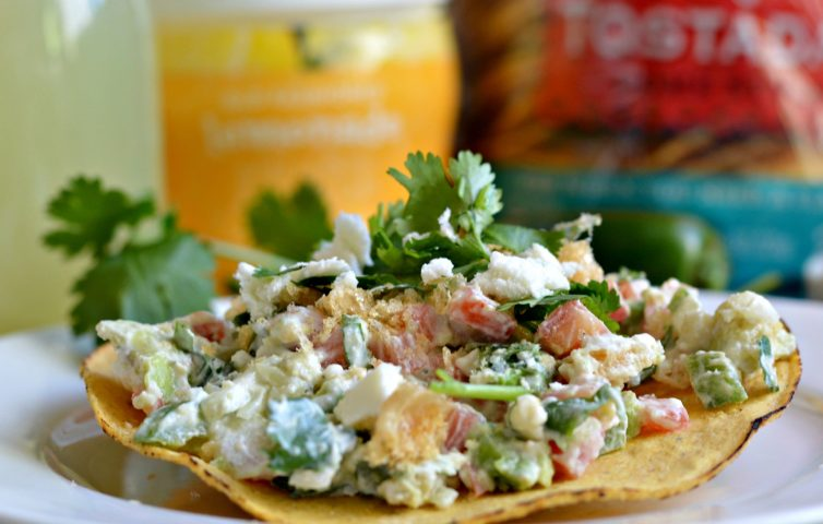 Chicharron and Avocado Salad 6