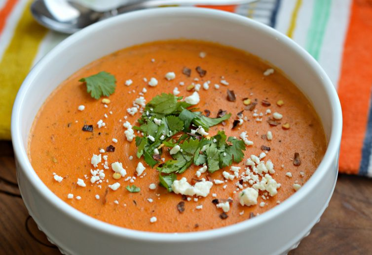 Roasted Red Pepper Bisque Bertolli