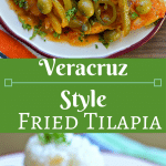 This Veracruz Style Fried Tilapia is a simple recipe that you will love! The flavors are amazing and there is never anything left on the plate!