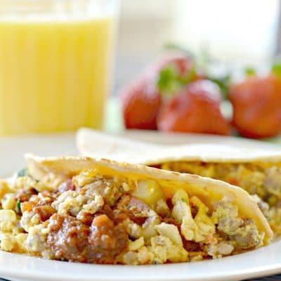 Tex-Mex Breakfast Tacos Recipe