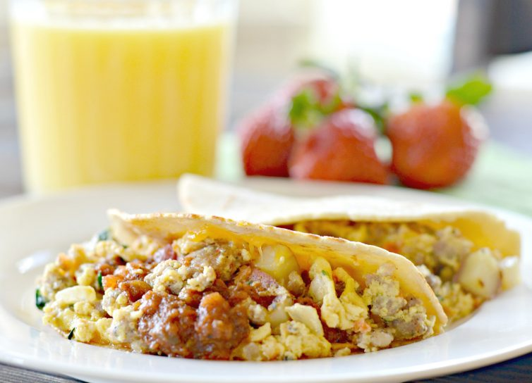 Tex-Mex Breakfast Tacos