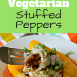 You won't believe that these vegetarian stuffed peppers don't have any meat at all! They are so delicious and are perfect for those that don't eat meat.