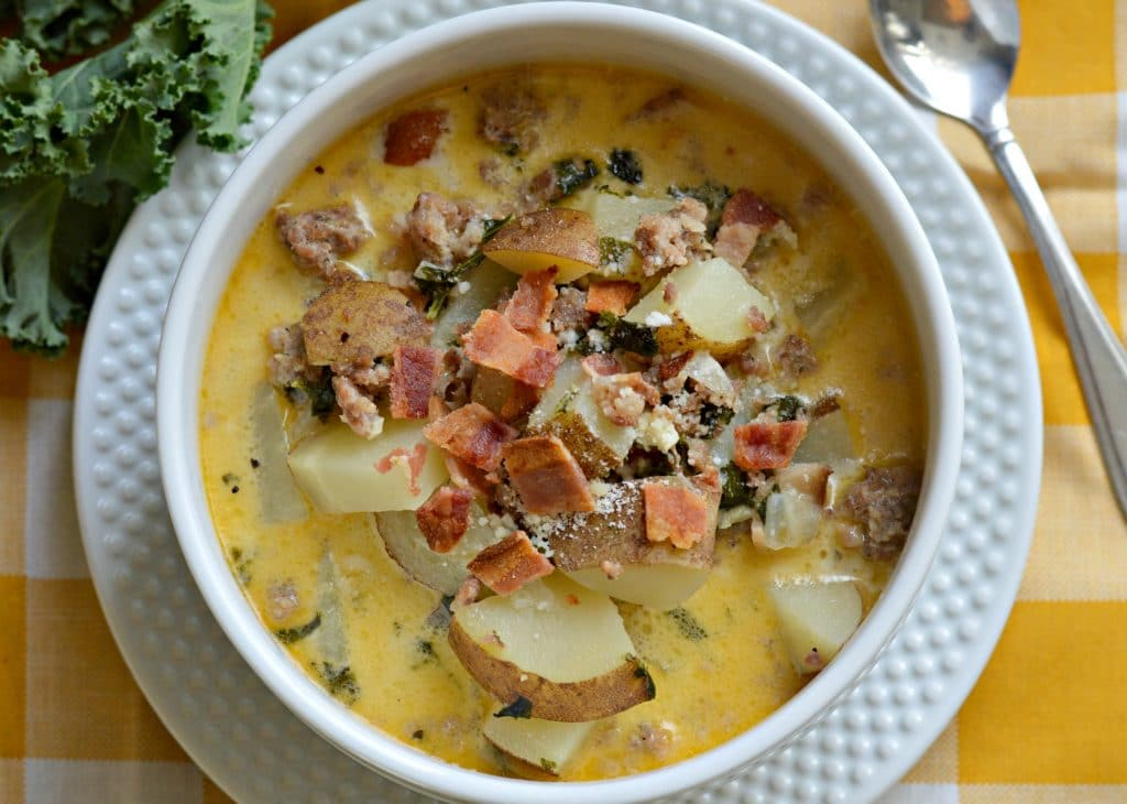 Zuppa Toscana receta (Olive Garden Imitacion)