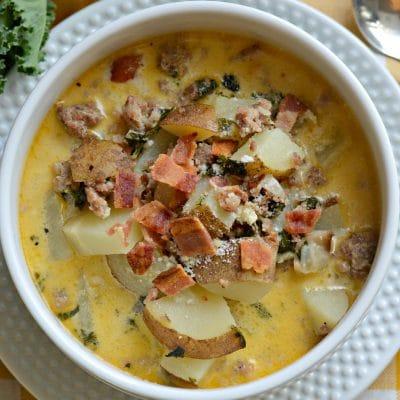 Zuppa Toscana Receta (Olive Garden Imitación)