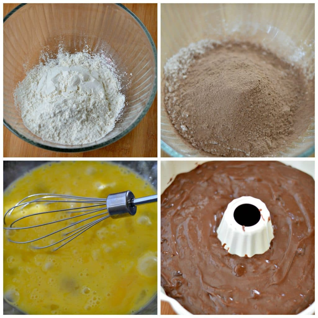 Homemade Triple Chocolate Bundt Cake 2