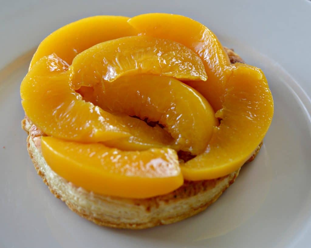 Peaches and Cream Puff Pastry 7