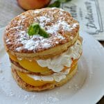 Peaches and Cream Napoleon 1
