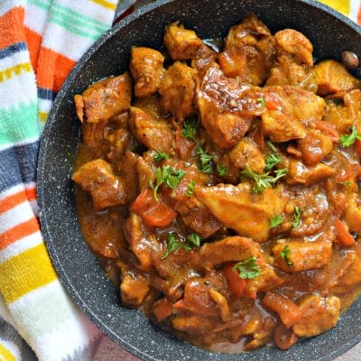 El Mejor Curry de Coco Con Pollo