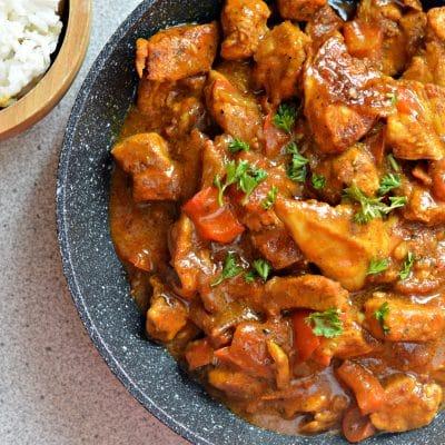 Homemade Coconut Chicken Curry Recipe