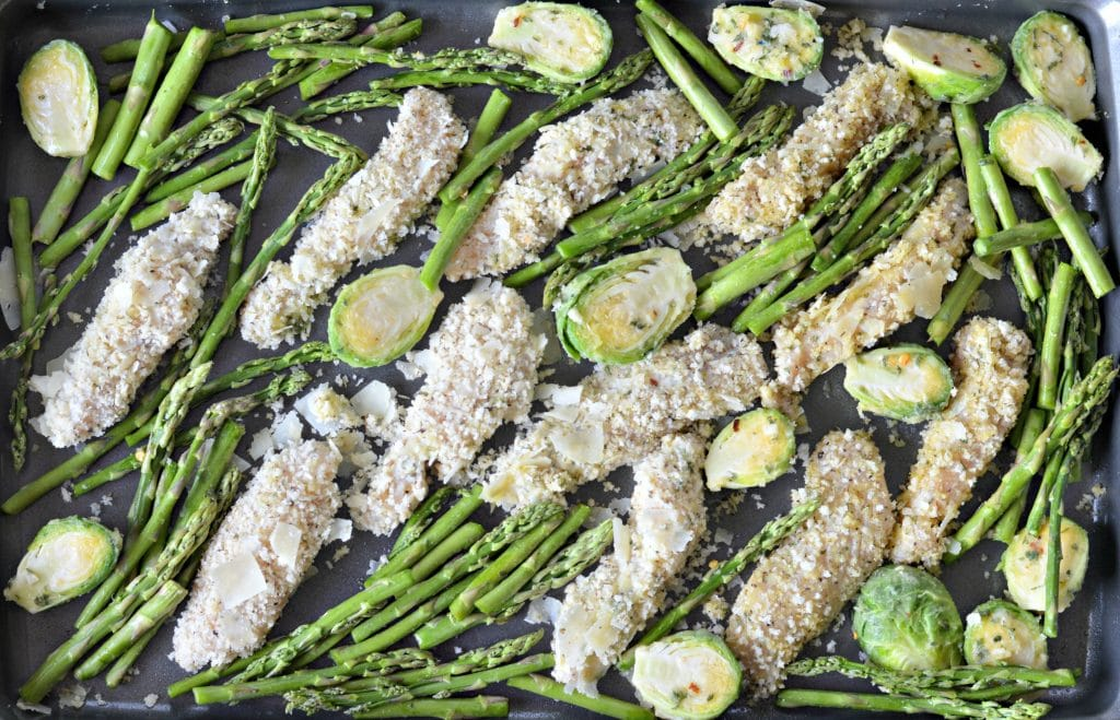 Sheet Pan Lemon Garlic Chicken