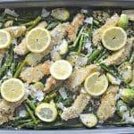 Sheet Pan Lemon Garlic Chicken