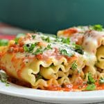 Three Cheese Lasagna Rollups