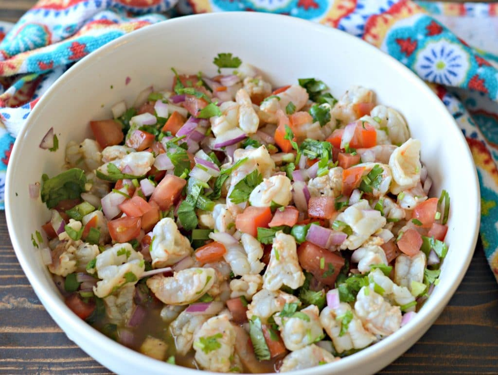 The Best Ever Mexican Style Shrimp Ceviche Recipe With Fresh
