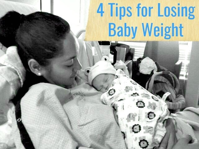 4 Tips for Losing Baby Weight