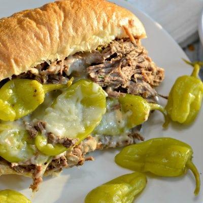 Slow Cooker Italian Beef Sandwich Recipe