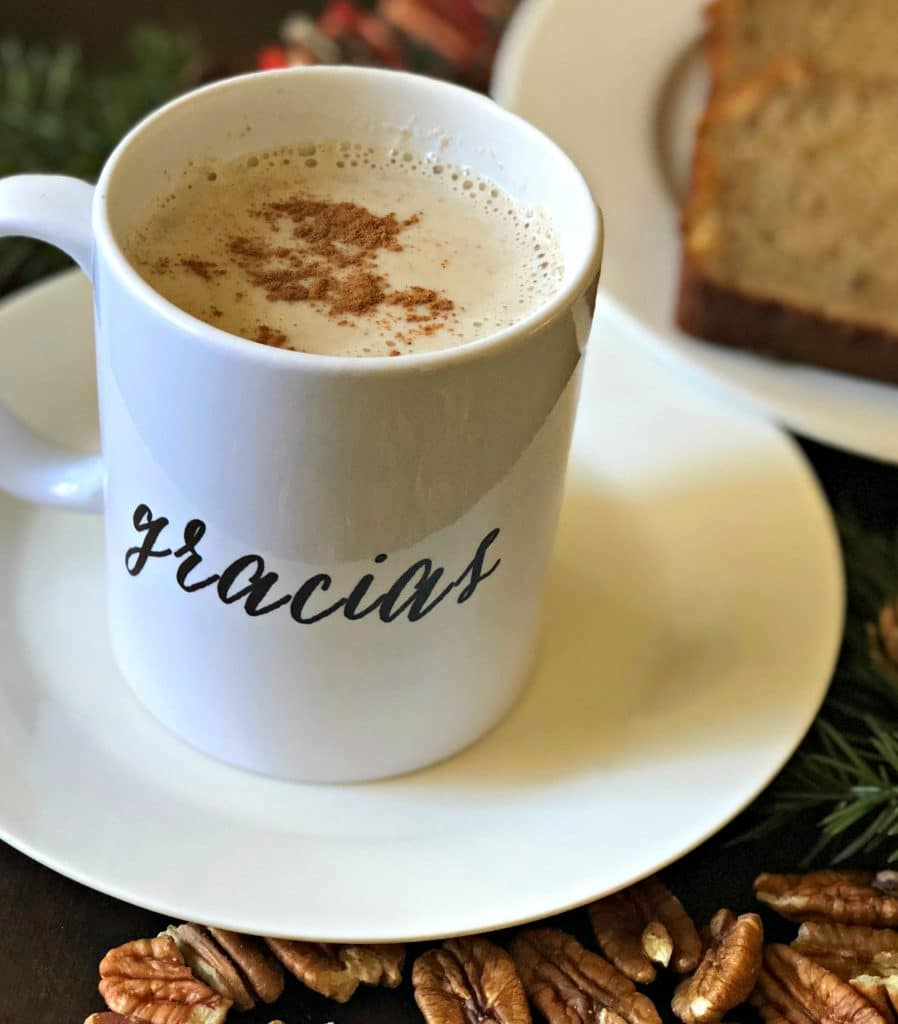 This Easy Pecan Atole Recipe only needs a few ingredients, is delicious, and is the perfect addition to your holiday traditions this year.