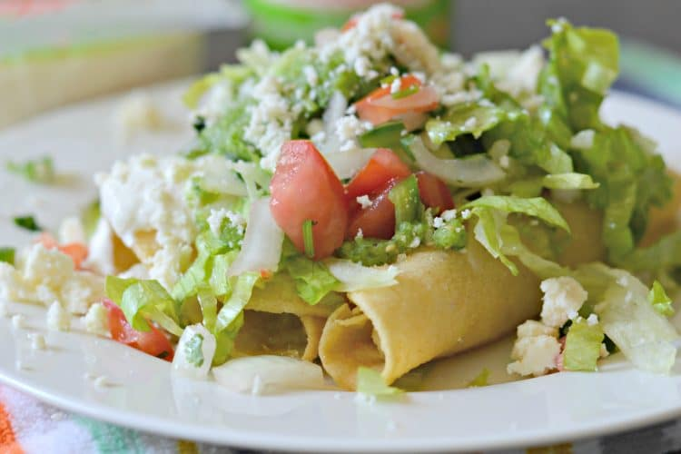 Crispy Potato Flautas Recipe