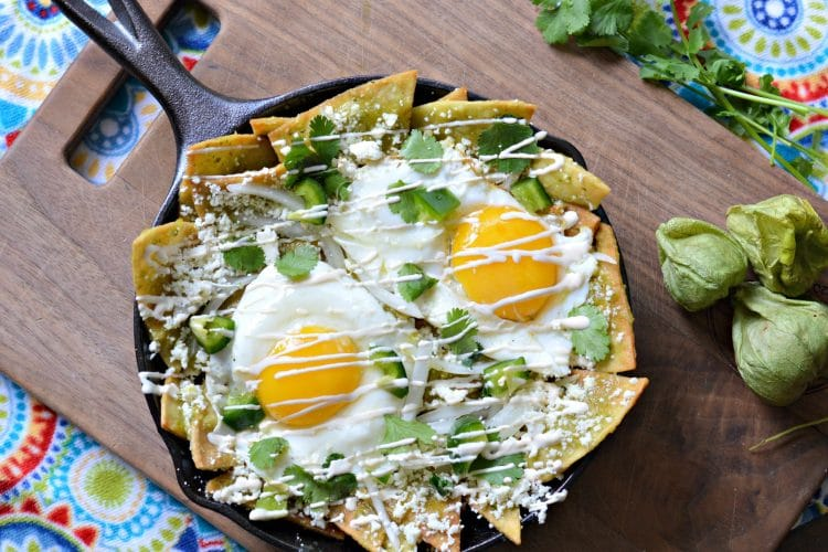 Healthy and Easy Chilaquiles Recipe
