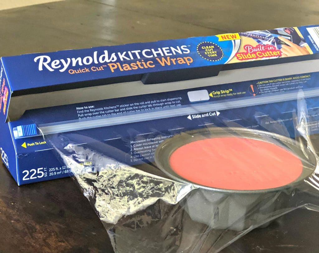 This Gelatina de Leche, or Mexican Milk jello, recipe is sure to be a hit at your next party. It is super easy to make, especially with the help of Reynolds KITCHENS™ Quick Cut™ Plastic Wrap