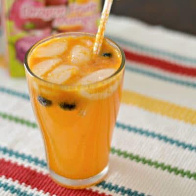 "Passion Fruit ""Mocktail"" Recipe"